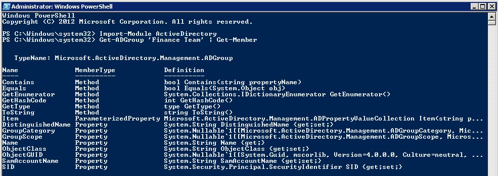 Find empty groups in Active Directory using PowerShell