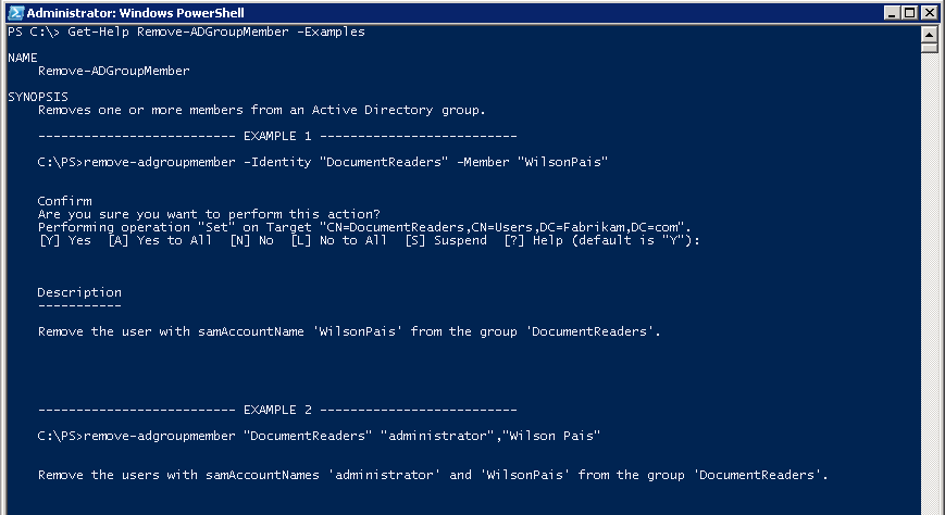 Powershell - Remove Members from AD Groups in bulk