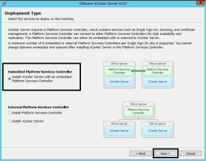 Installing the vCenter Virtual Machine