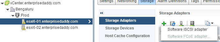 Designing the Shared Storage for VMWare vSphere Lab