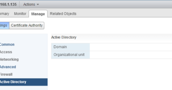 How to Join VMware VCSA to domain