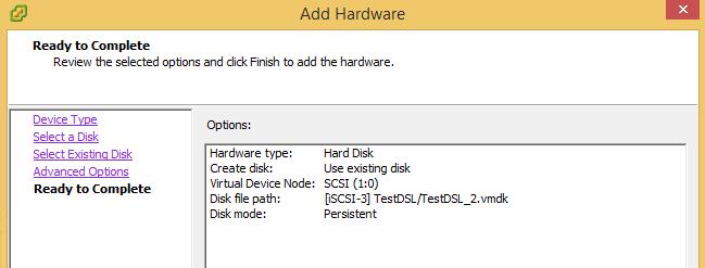 Enable Multiwriter VMDK flag in vSphere