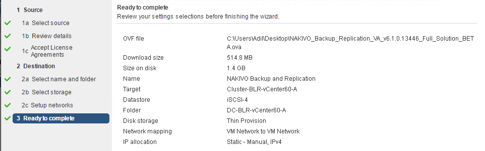 Nakivo Backup and Replication 6.1 Beta Review