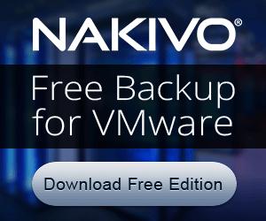Nakivo Free Edition