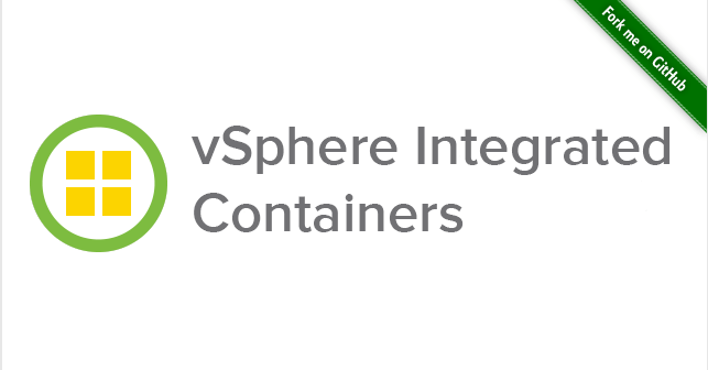 VMware vSphere Integrated Containers – Part 1 – Introduction