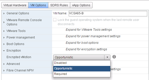 vSphere 6.5 - Secure VMs using vSphere 6.5 Security Features