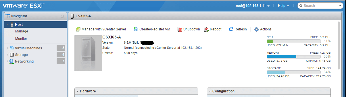 vSphere 6.5 - What all Management Interfaces do I have?