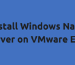 Install Windows Nano Server on VMware ESXi