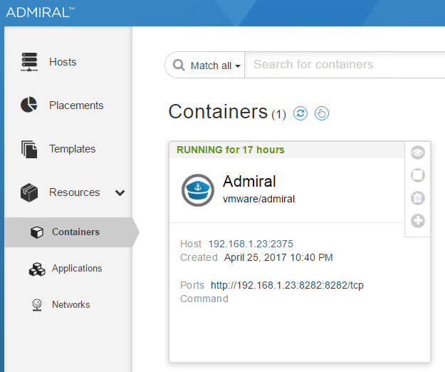 VMware vSphere Integrated Containers - Part 5 - Install Admiral