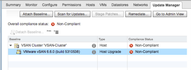 vSphere 6.5 Update 1 - vSAN VUM Integration