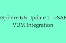 vSphere 6.5 Update 1 - vSAN VUM Integration-min