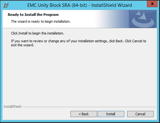 VMware Site Recovery Manger (SRM 6.5) Part 8 - Install SRA