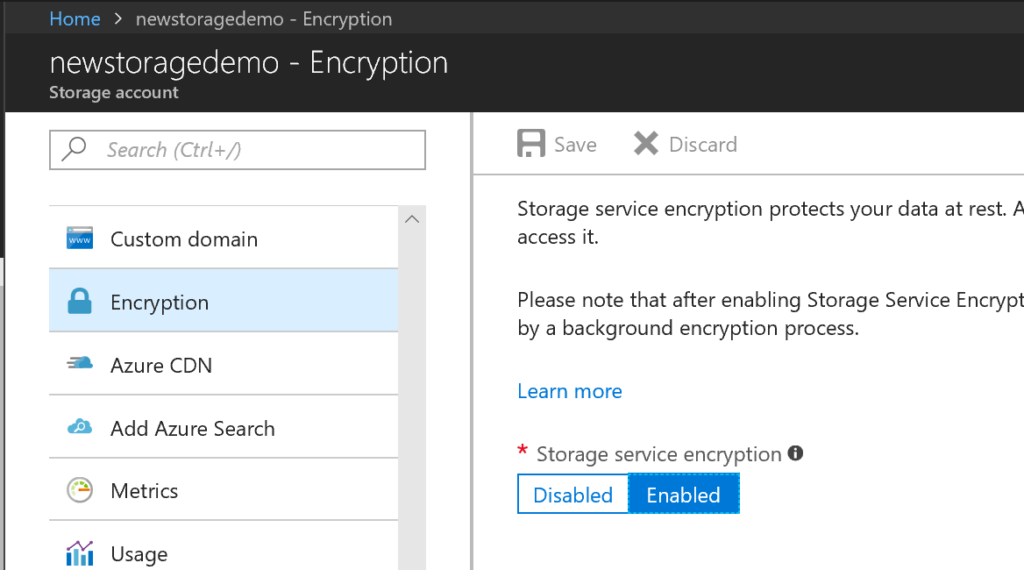 Objective 3.4 - Implement Storage Encryption