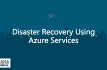 Disaster Recovery using Azure Services