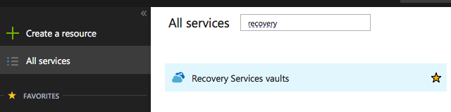 Objective 6.2 - Implement Recovery Services
